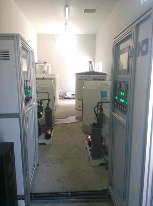 格鲁吉亚巴统市自来水厂水消毒处理项目